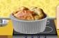 Elmalı ve Cheddar Peynirli Sufle